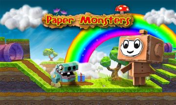 Papīra Monsters 3d platformera