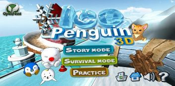 Glace Pingouin 3D