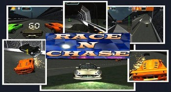 Sacensības n Chase - 3D Auto Racing
