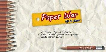 Papir War for 2 spillere