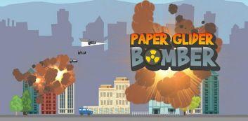 Bomber papel planador