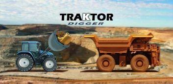 Traktorius Digger