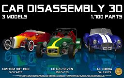 Bil Demontering 3D v.2.3