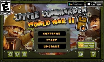 Little Commander - World War 2 TD