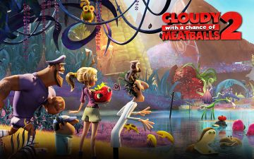 Cloudy with Meatballs 2