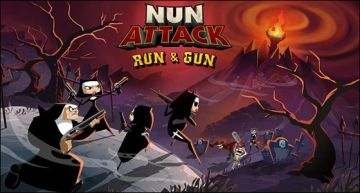 Nun Attack: Run & Gun