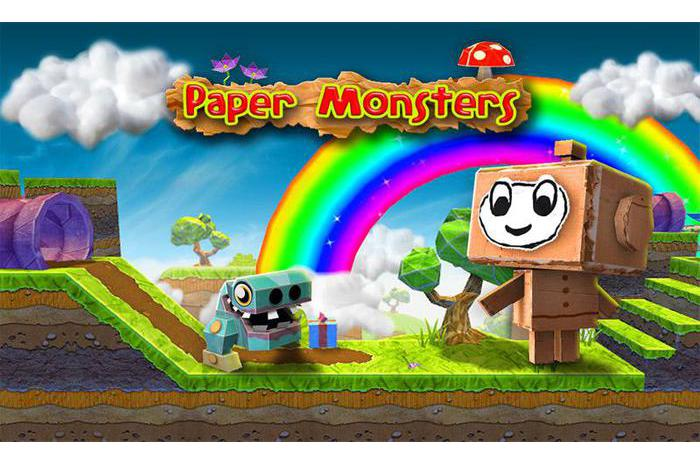 Paper Monsters 3d plattformspill