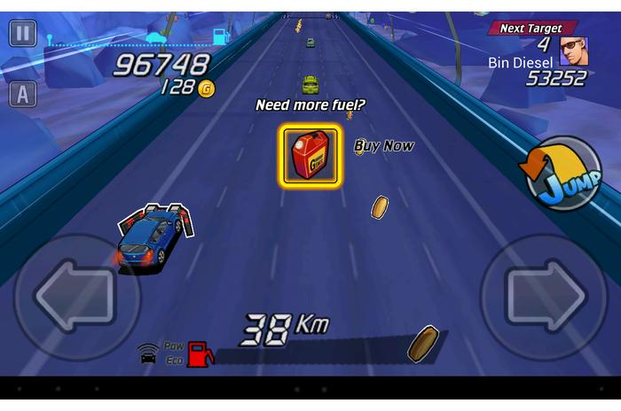 Go! Go! Go !: lenktynininkas