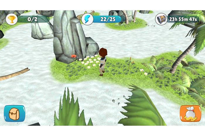 المنبوذ الرئيسية: جزيرة ضائعة