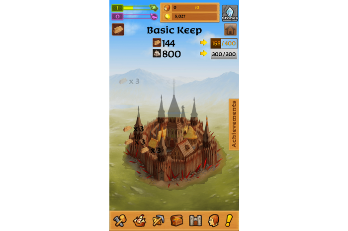 Castello Clicker