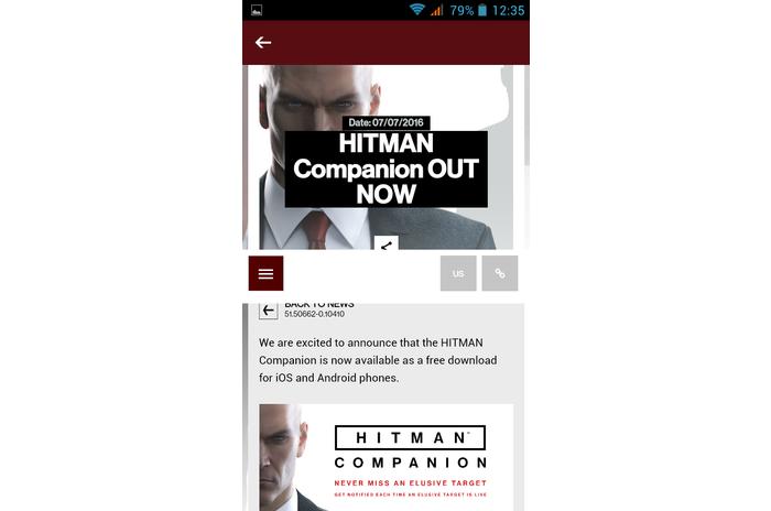 HITMAN ™ Companion