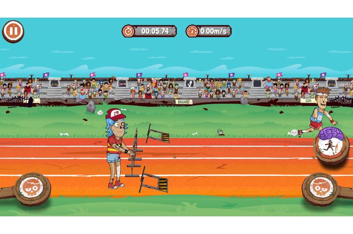 Olympische Spelen Zombies - Rio 2016