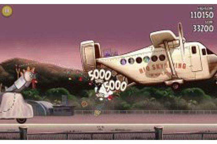 Angry Birds Rio: Plano de los contrabandistas