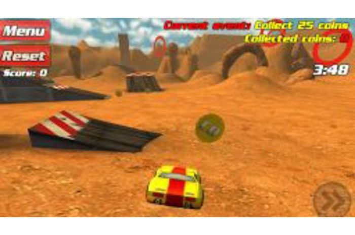 Disque crash 3D