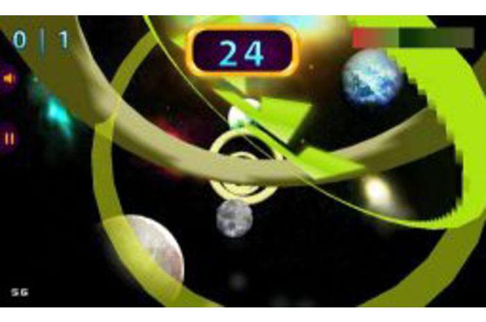 Erdvė Žiedai 3D