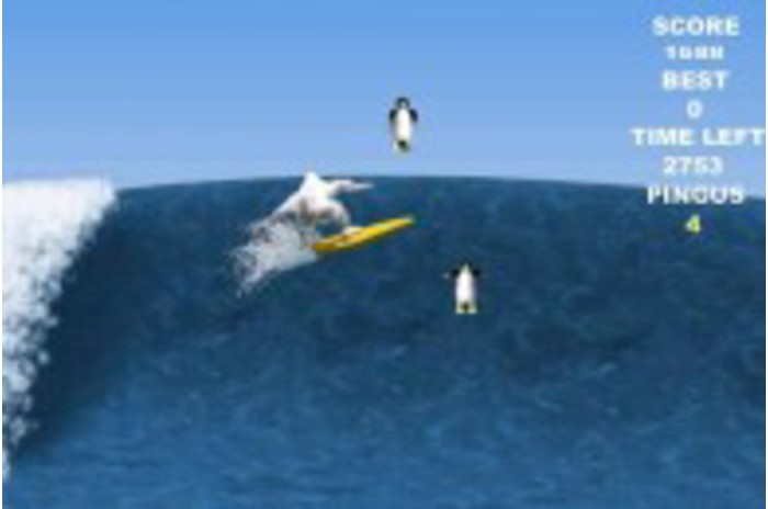 Penguin Surf