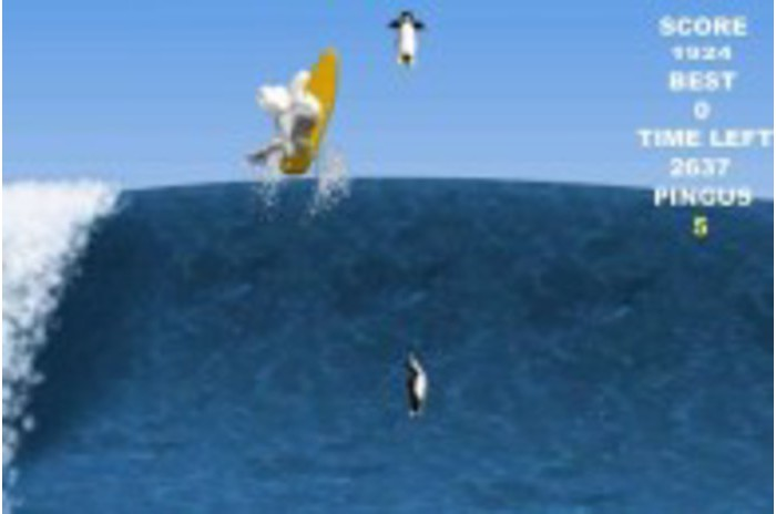 Pinguin Surf