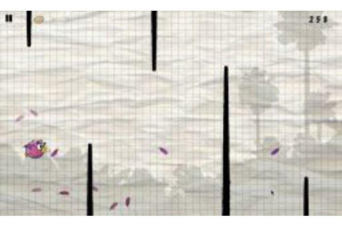 Oiseaux ligne