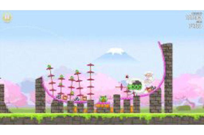 Angry Birds Seasons: Cherry Blossom Festival w witrynie