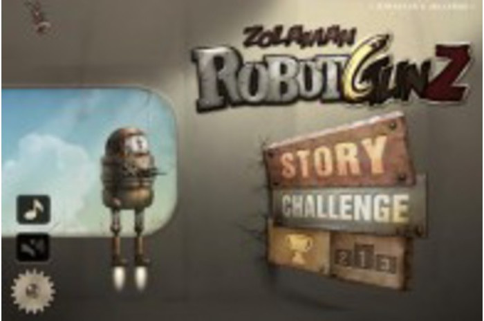 Zolaman Robotas Gunz