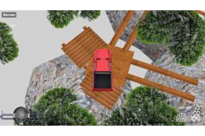 موقف سيارات التحدي 3D