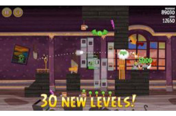 Angry Birds Seasons: Cerdos embrujada!
