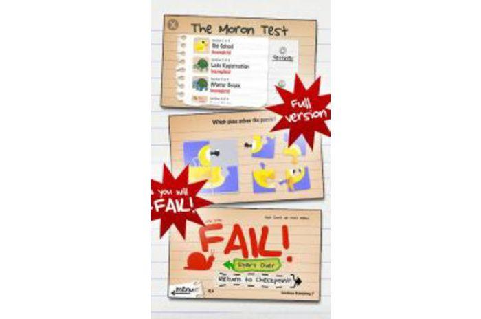 O Teste de Moron v.4.2