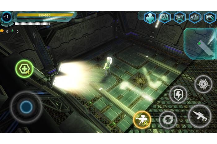 Alien Raid Ζώνη