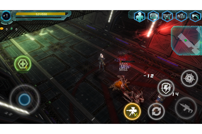 Alien Raid Zone