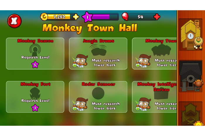 Bloons Monkey Stad