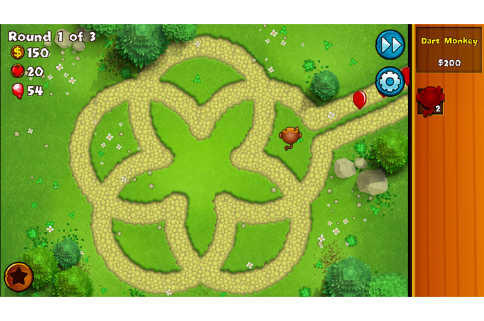 Bloons Monkey Város