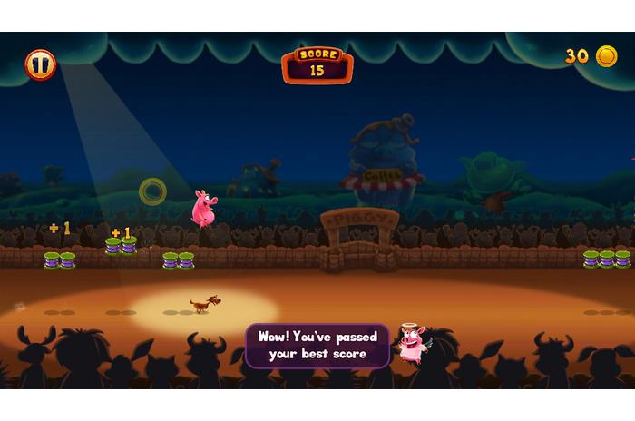 Piggy mutatása