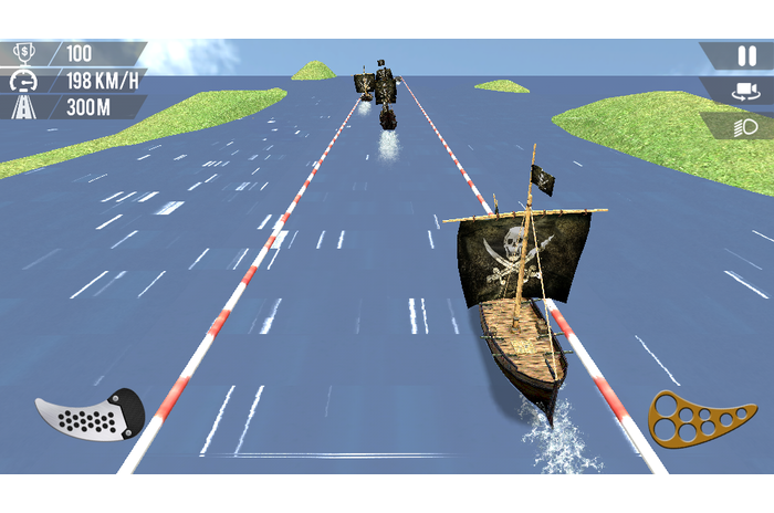 Creed Pirates Racing: Homokvihar