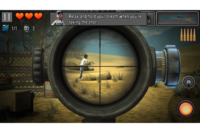 Paskutinė viltis - Zombie Snaiperis 3D