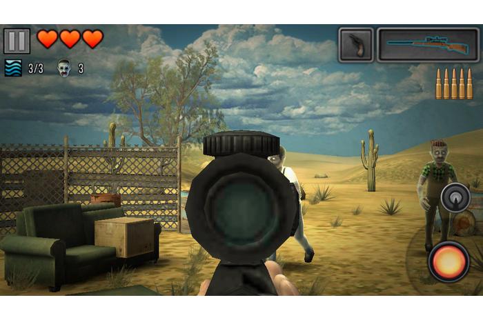 Ultima speranță - Zombie Sniper 3D
