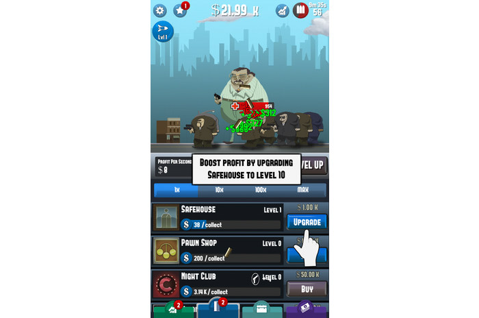 Tap Mafia - Idle Clicker