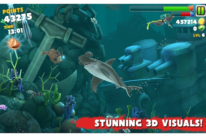 Hungry Shark Evolution v.1.3.5