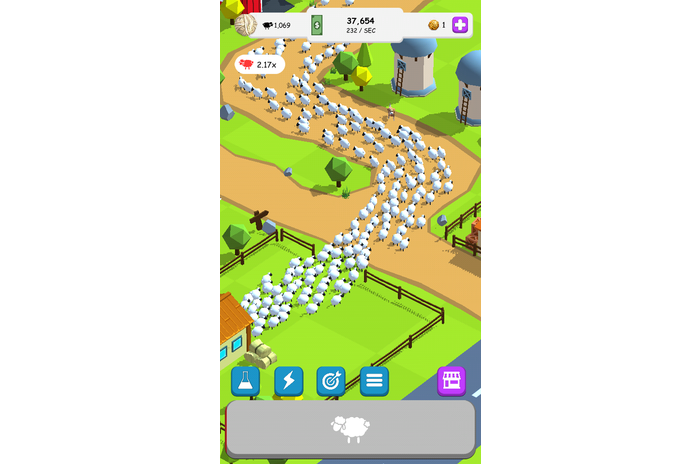 Oh Sheep - Clicker spill