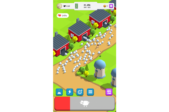 Oh Sheep - Clicker Game