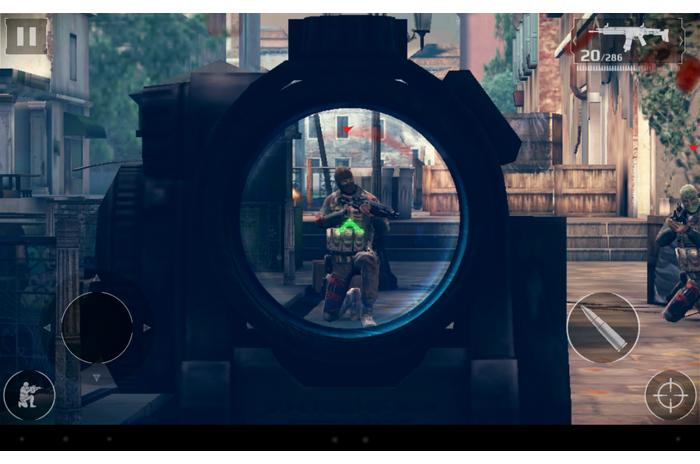 "Modern Combat 5: Eclipse """