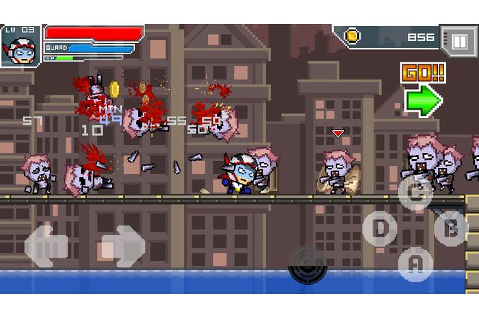 HERO-X: zombie!