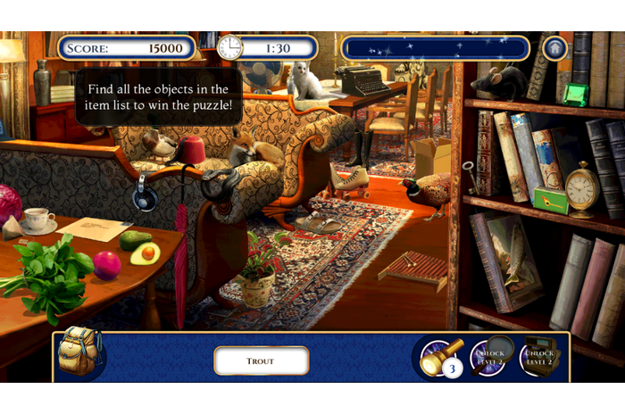 Passages secrets: Hidden Objects