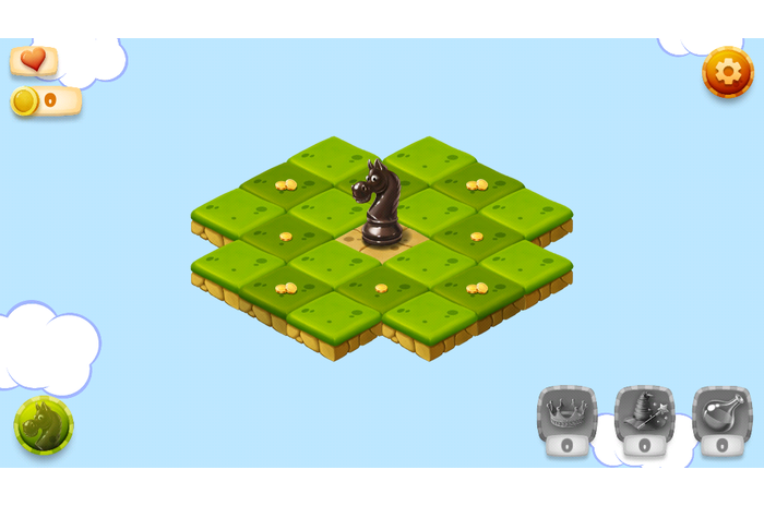 Tour Knight: Chess Puzzle