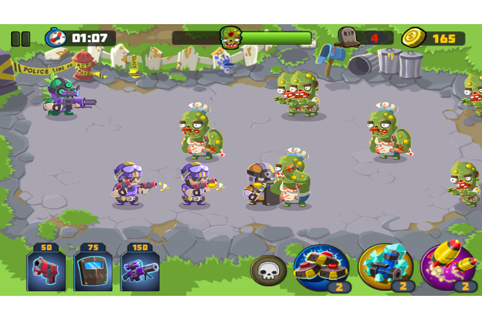 Policija vs Zombies