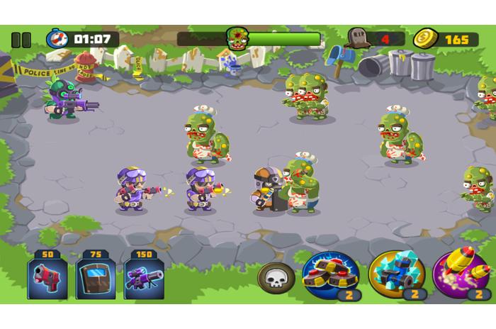 Policja vs Zombies
