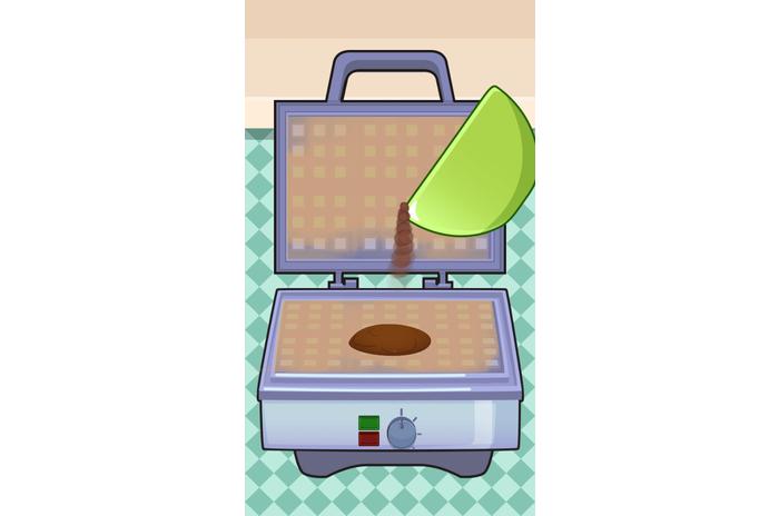 私のワッフルメーカー - 料理ゲーム