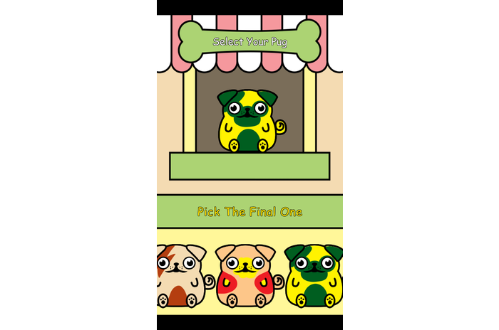 Virtual Pet Pug -Dog colector