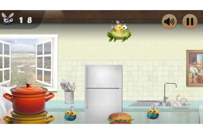 Froggy Ribbit: distancer le chef