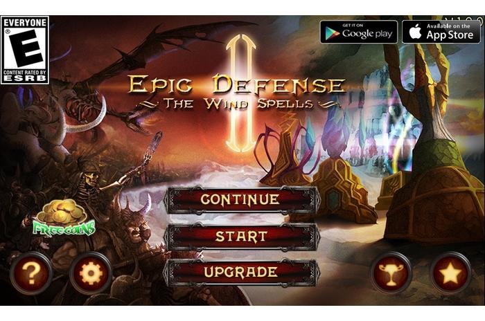 Epic TD 2 - Wind Spells Deluxe v.1.0.2