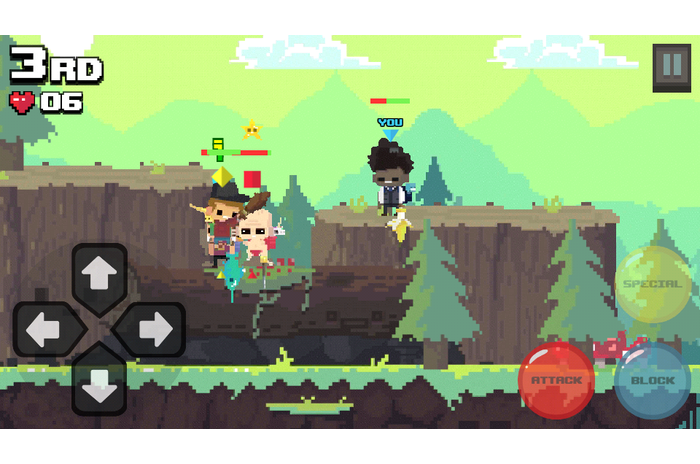 Mad Super Adventure Battle